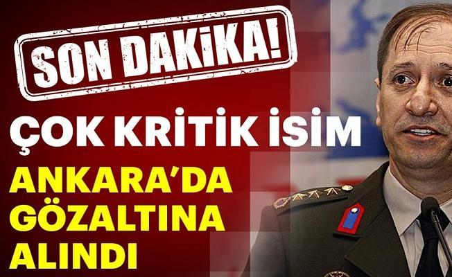 Kritik isim Burhanettin Cihangiroğlu Ankara'da gözaltına alındı