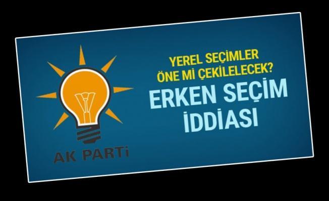 AK Parti'den erken seçimler için flaş sözler