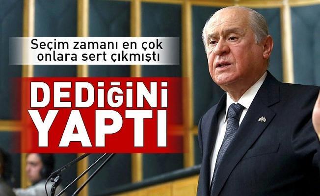 Bahçeli dediğini yaptı! MHP'den anket şirketleri için yasa teklifi .