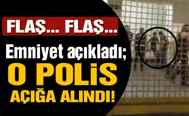 Fenerbahçe-Bursaspor maçı ile ilgili bir komiser yardımcısı açığa alındı