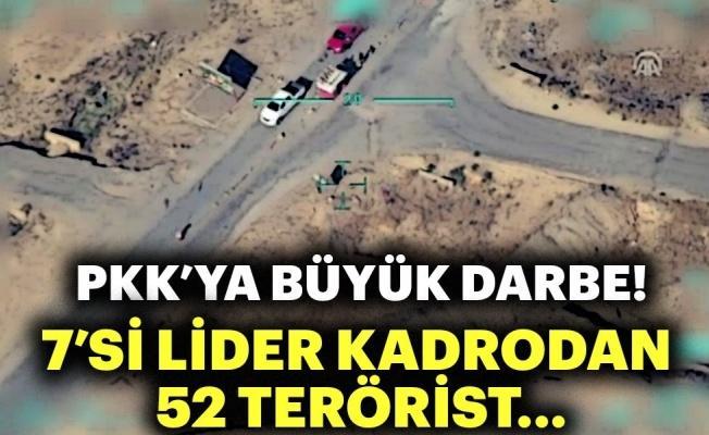 TSK açıkladı! PKK'ya büyük darbe!