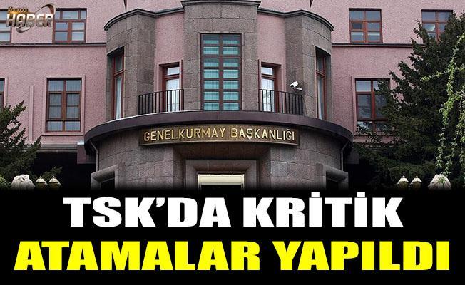 TSK'da kritik atamalar yapıldı.