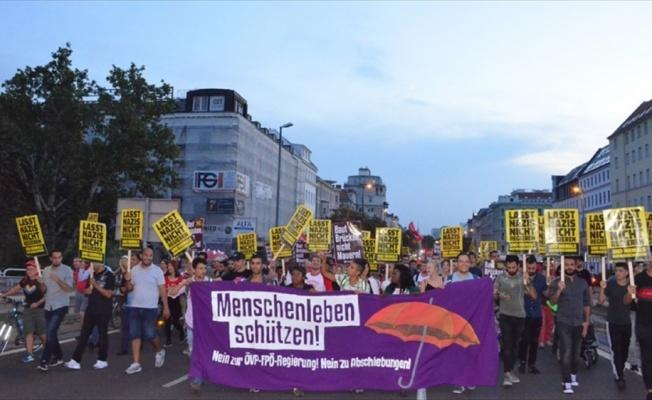 Avusturya'da AB Göç politikaları protesto edildi
