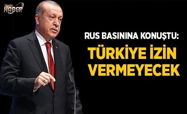 Başkan Erdoğan Rus basınına konuştu!