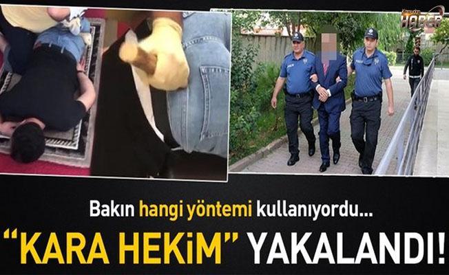 'Kara Hekim' Metin A. yakalandı!.