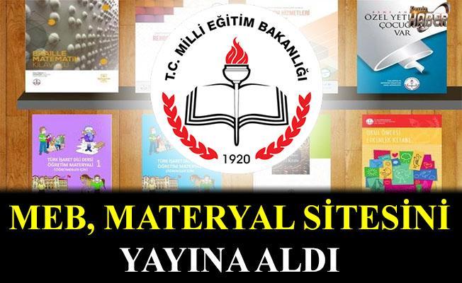 MEB, materyal sitesi hazırladı