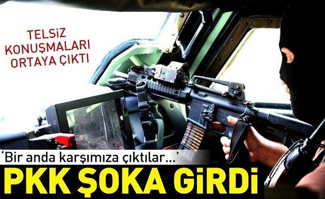 PKK şoka girdi! 'Bir anda karşımıza çıktılar...' .