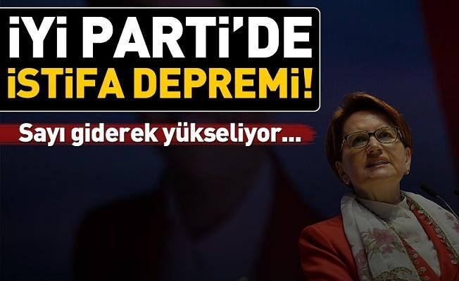 Son dakika: İYİ Parti'de istifalar sürüyor .