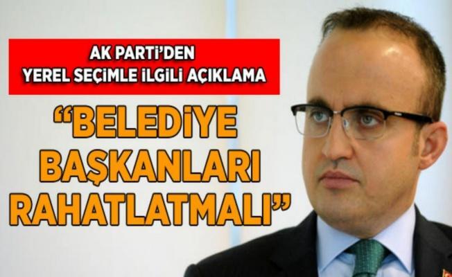 AK Partili Turan: 3 dönem belediye başkanlığı yapanlar aday olmayarak genel merkezi rahatlatmalı