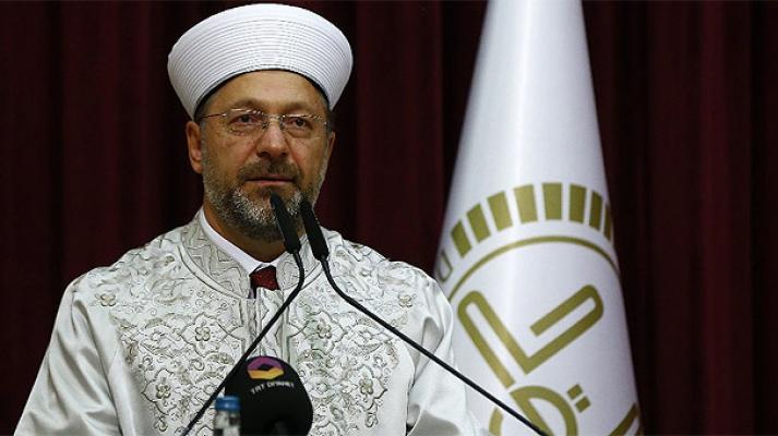Diyanet İşleri Başkanı Erbaş'tan 'faiz' eleştirisi