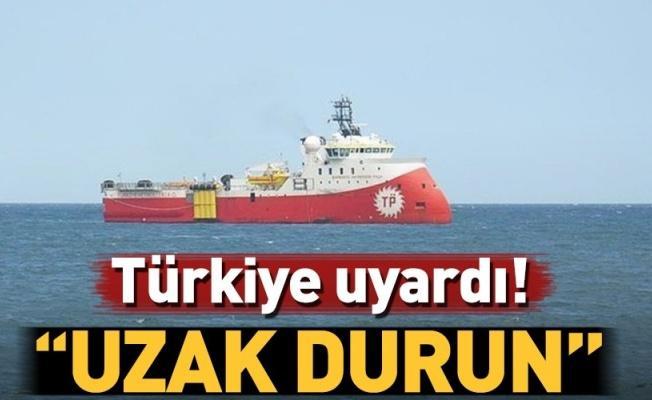 Doğu Akdeniz'de sondaj gerilimi! Bakanlıktan ilk açıklama geldi