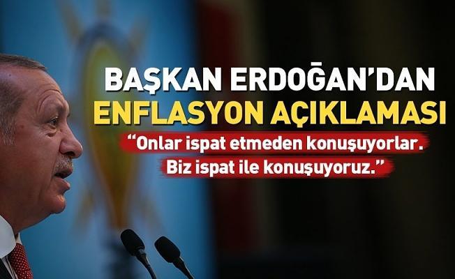 Erdoğan'dan ekonomistlere: Enflasyon olayını düşük faiz aşağı çekecektir .