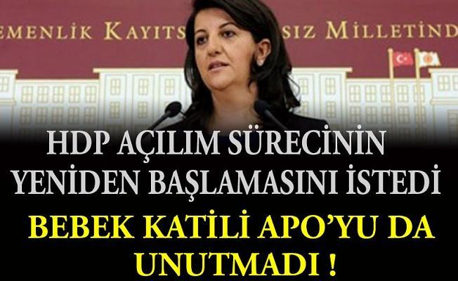 HDP'li Buldan: Barış ve müzakere süreci bir kez daha başlamalı, Öcalan bu sürece dahil edilmeli