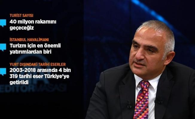 'Turist sayısında Türkiye rekorunu kıracağız'