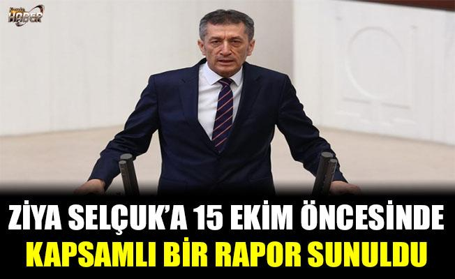 Türk Eğitim-Sen, Milli Eğitim Bakanı Ziya Selçuk'a Kapsamlı Bir Rapor Sundu.