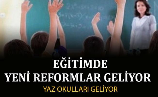 Yeni yılda eğitimde reformlar artacak