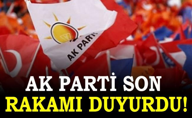 AK Parti'de aday adayı sayısı bin 386'ya ulaştı