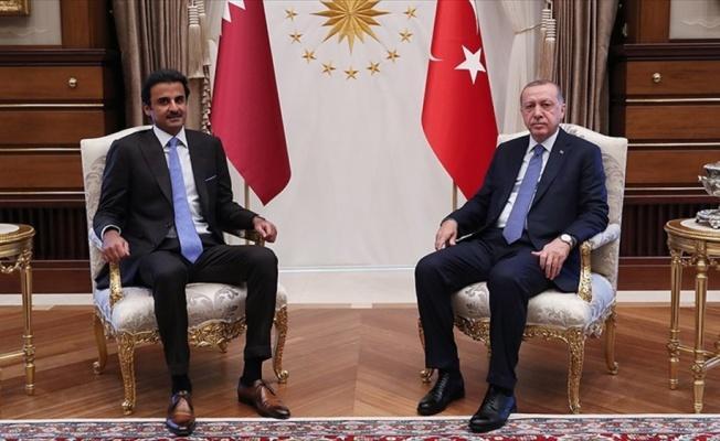 Cumhurbaşkanı Erdoğan ile Katar Emiri Al Sani bir araya gelecek