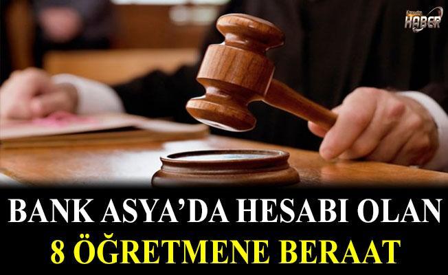 FETÖ'den yargılanan 8 öğretmene beraat