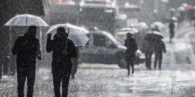 Marmara, Akdeniz ve Güneydoğu'da yağış bekleniyor