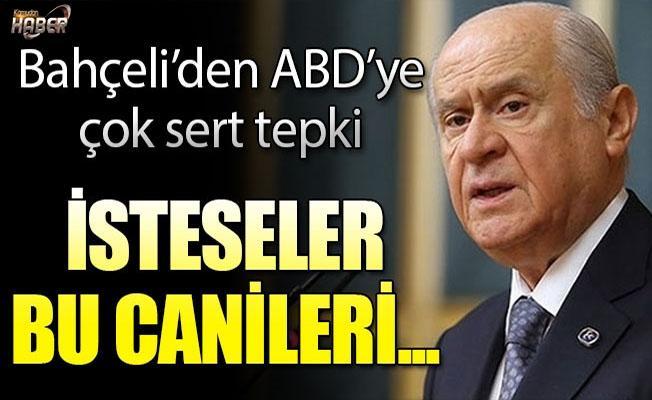 MHP lideri Bahçeli'den flaş ABD açıklaması