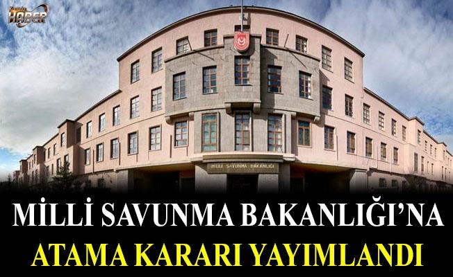 Milli Savunma Bakanlığına atama kararı Resmi Gazete'de yayımlandı.
