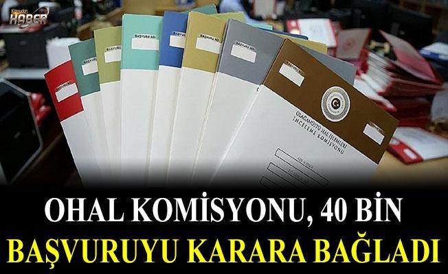 OHAL Komisyonu, 40 bin başvuruyu karara bağladı