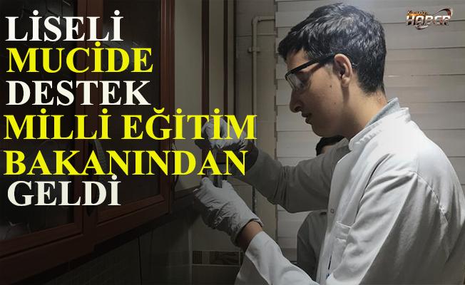 Bakan Selçuk'tan liseli mucide destek sözü.