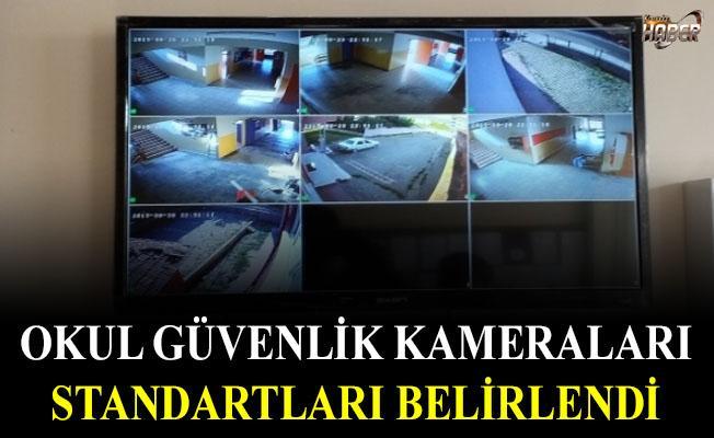 İçişleri Bakanlığı, Okul güvenlik kameraları standartlarını belirledi