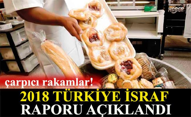 2018 Türkiye İsraf Raporundan çarpıcı rakamlar!