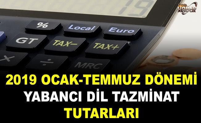 2019 Ocak Temmuz Dönemi Yabancı Dil Tazminat Tutarları Ne Kadar Oldu?