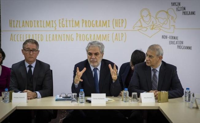 AB Komisyonu Üyesi Stylianides: Hiçbir sığınmacı çocuk okul dışında kalmasın