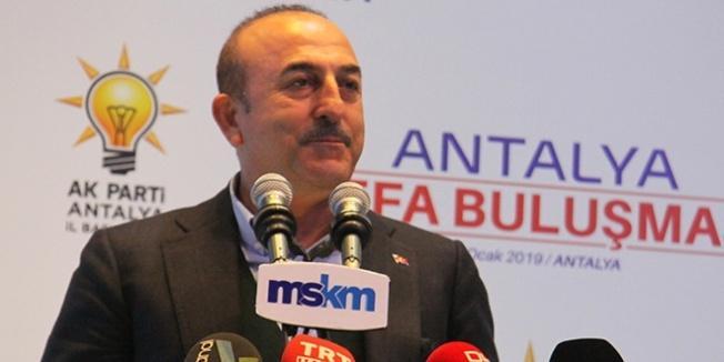 Bakan Çavuşoğlu: Biz kimseden icazet almıyoruz