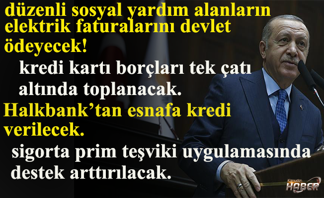 Cumhurbaşkanı Erdoğan'dan canlı yayında önemli açıklamalar.