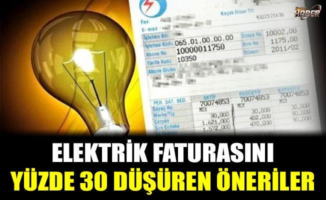 Elektrik faturasını yüzde 30 düşürebilirsiniz