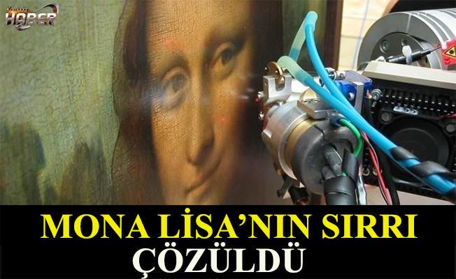 Mona Lisa'nın sırrı çözüldü.
