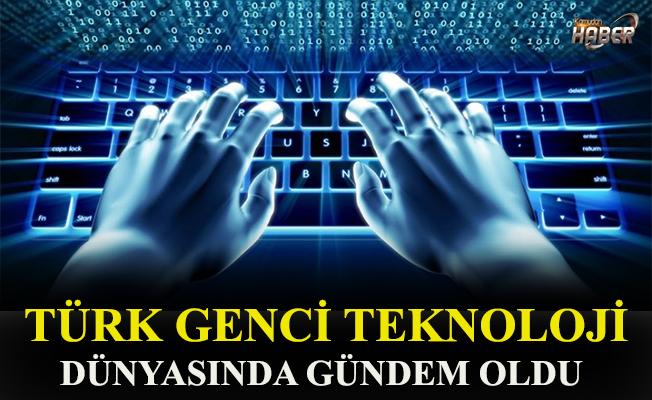 Türk genci geliştirdiği tasarımla teknoloji dünyasında gündem oldu.