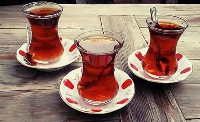 """Türklerin """"Çay"""" sevdası."""