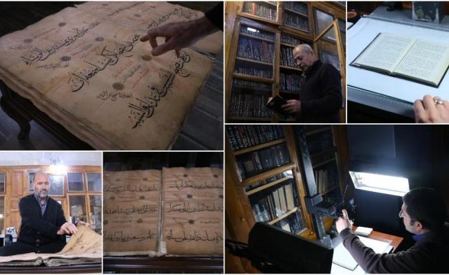 223 senelik Yazma Eserler Kütüphanesi