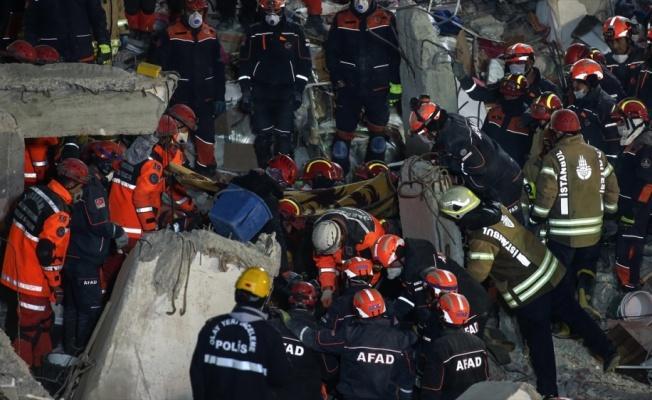 Kartal'da bina çökmesi sonucu ölenlerin sayısı 21'e yükseldi