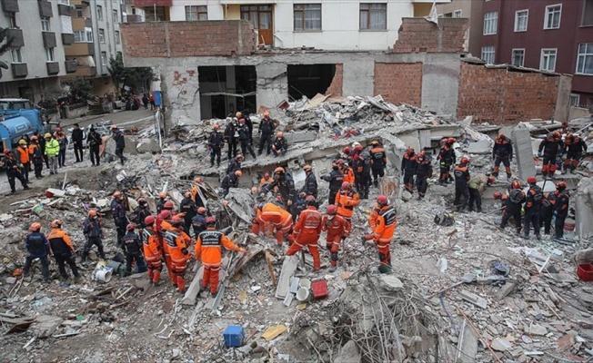 Kartal'daki çöken binaya ilişkin soruşturmada 3 gözaltı