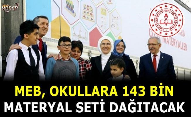 MEB, Okullara 143 bin materyal seti dağıtacak