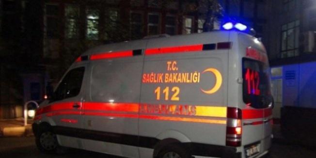 Polis otosu ağaca çarptı! 1 şehit, 1 yaralı