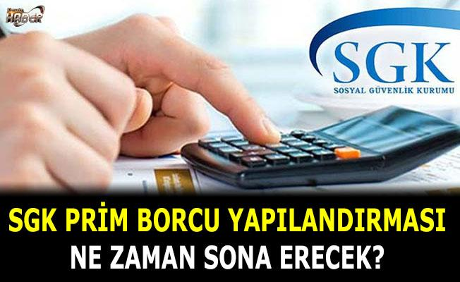 SGK Prim borcu yapılandırması için kritik tarih