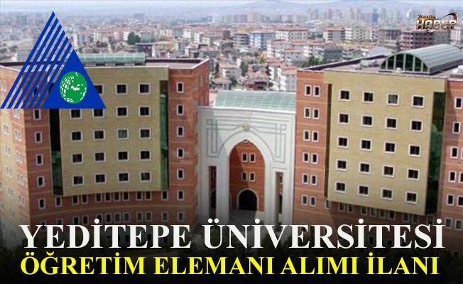 Yeditepe Üniversitesi'ne öğretim elemanı alımı