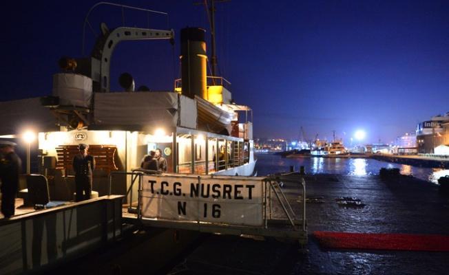 104 yıl sonra Nusret Mayın Gemisi'nin rotası canlandırıldı.