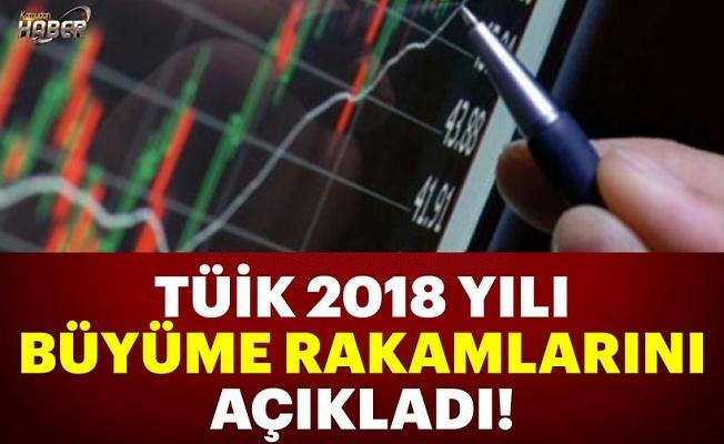 2018 yılı büyüme rakamları açıklandı!