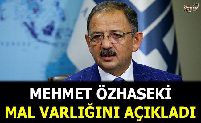 Ak Parti Ankara Büyükşehir Belediye Başkan adayı Özhaseki mal varlığını açıkladı