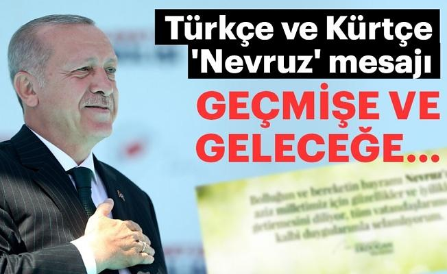 Başkan Erdoğan'dan Türkçe ve Kürtçe 'Nevruz' mesajı