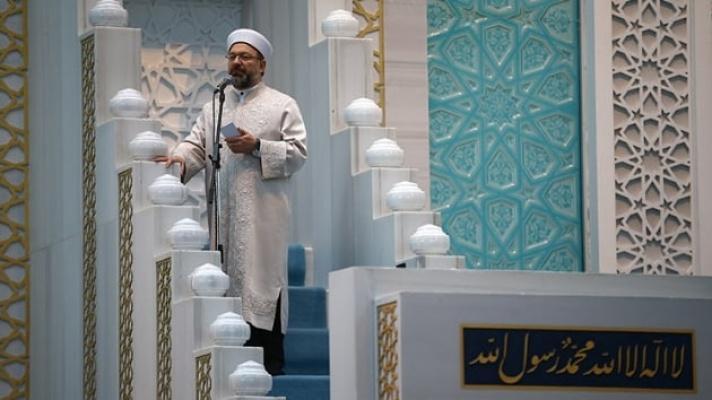 Diyanet İşleri Başkanı Erbaş: İslamofobik tavrın amacı çatışma yaratıp çıkar sağlamak